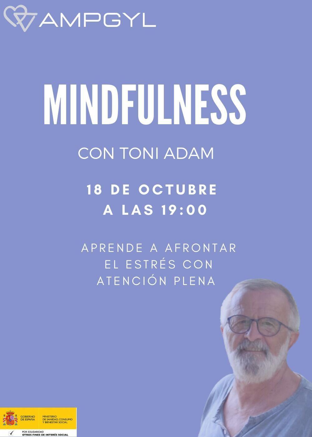 """Taller de Mindfulness: """"Aprender a afrontar el estrés con atención plena"""