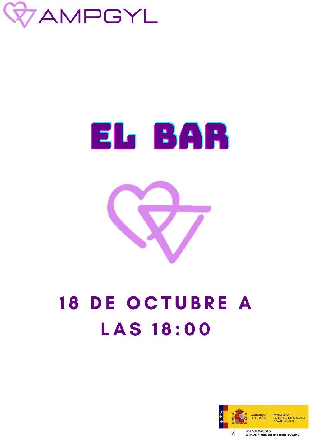 """Taller de socialización para jóvenes """"El bar"""""""